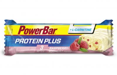 powerbar barre protein plus l carnitine 35g framboise yaourt