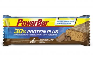powerbar barre proteinee 30 protein plus 55gr chocolat