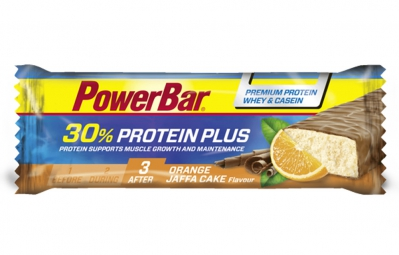 powerbar barre protein plus 30 55gr orange jaffa cake