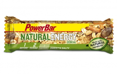 powerbar barre natural energy cereal 40gr sweet n salty