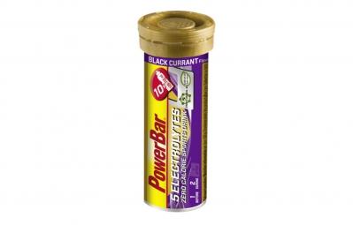 powerbar 5 electrolytes 10 comprimes cassis