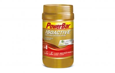 powerbar boisson energetique isoactive fruits rouges 600gr