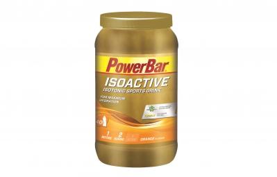 powerbar boisson energetique isoactive orange 1320gr