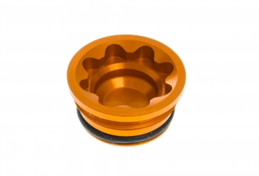 hope bouchon de piston d etrier bore cap v4 small e4 orange
