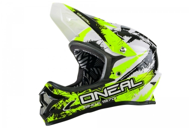 casque integral oneal backflip fidlock dh rl2 shocker 2016 noir jaune