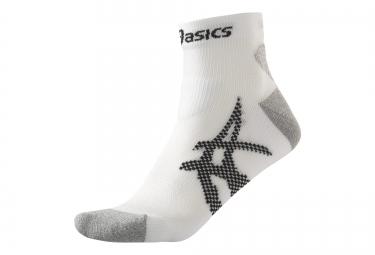 asics chaussettes kayano blanc noir