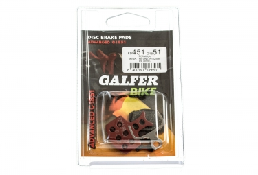 galfer plaquettes formula oro 18k 24k metallique advanced g1851