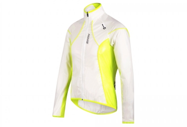 santini veste impermeable ice transparent jaune