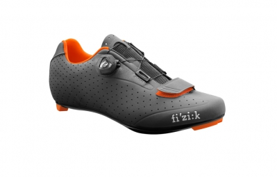 chaussures route fizik r5 uomo 2016 anthracite orange