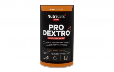 nutrisens boisson energetique pro dextro pot de 450g the peche
