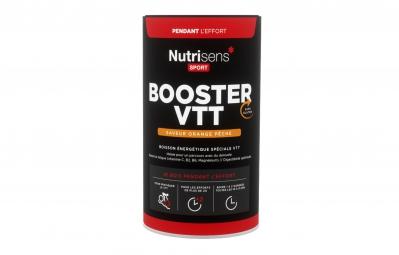 nutrisens boisson energetique booster vtt pot de 500g orange peche