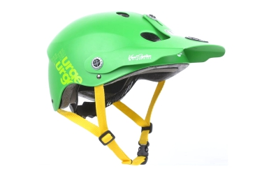 casque enfant urge all in vert