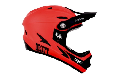 urge casque drift rouge