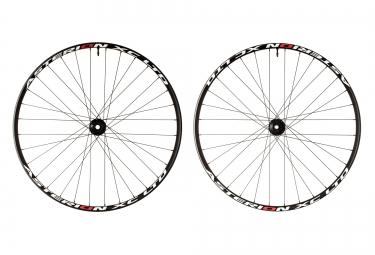 asterion paire de roues xc ltd 29 axe 15mm 142x12mm noir