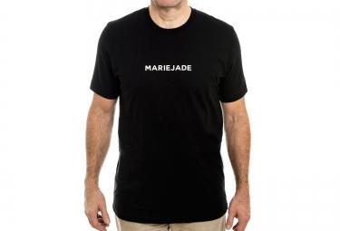 marie jade t shirt script noir