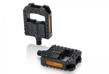 xlc paire de pedales pliables pd f01 noir
