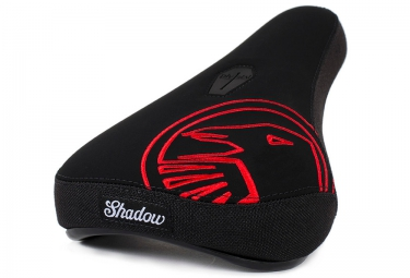 shadow selle pivotal mid crow noir rouge