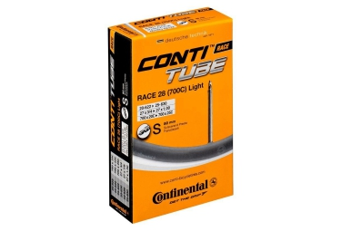continental chambre a air 700x20 25 light valve presta 80 mm