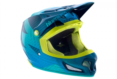 casque integral bluegrass brave bleu jaune