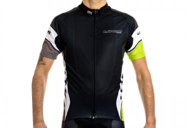 look maillot manches courtes pro team noir vert