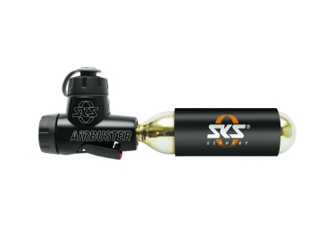sks gonfleur co2 airbuster 125mm dv av sv