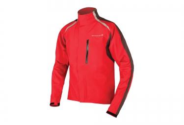 endura veste impermeable flyte rouge