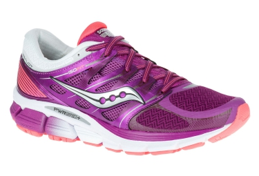 saucony chaussures zealot iso violet rose blanc femme
