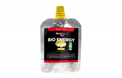 nutrisens gel energetique bio energy 70g banane
