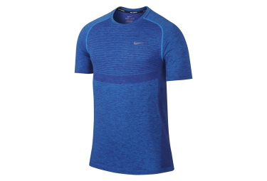 maillot homme nike dry knit bleu homme