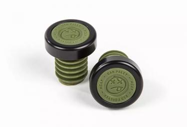 bsd embouts de guidon m caps vert