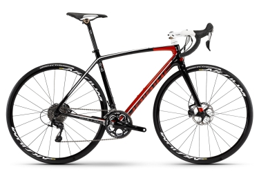 haibike 2016 velo complet challenge rx shimano 105 11v noir rouge