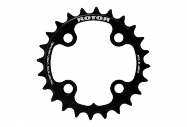 plateau vtt rotor noq xc3 interne 104 64 mm noir