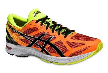 asics gel ds trainer 21 orange noir jaune