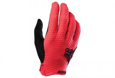 fox gants longs attack rouge