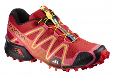salomon speedcross 3 rouge noir jaune