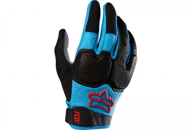 fox gants unabomber bleu noir