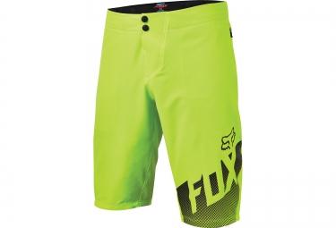 fox short avec peau altitude jaune