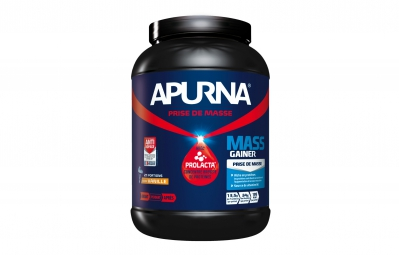 apurna pot de proteines mass gainer vanille pot 1100g