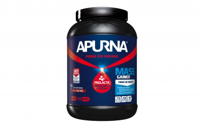 apurna pot de proteines mass gainer chocolat pot 1100g