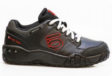 chaussures vtt five ten impact noir rouge