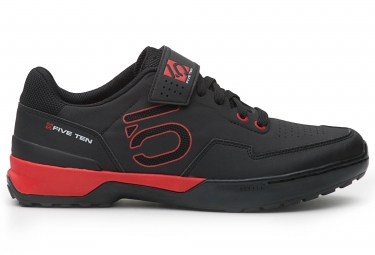 chaussures vtt five ten kestrel lace noir rouge