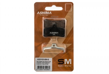 ashima paire de plaquettes shimano saint br m810 semi metalliques