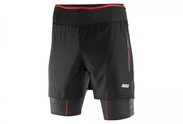 salomon short 2 en 1 s lab exo tw noir