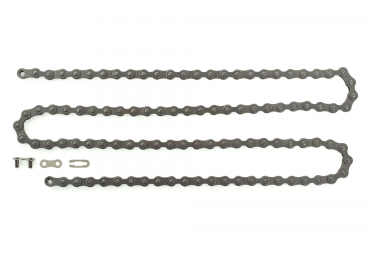 global racing chaine fastlink 1 2x3 32 gris