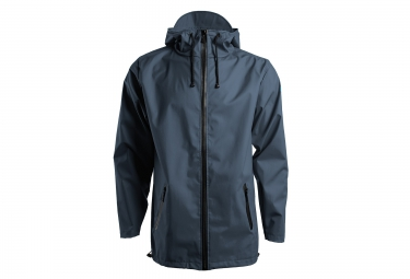 rains veste breaker bleu