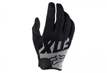 fox gants longs ranger noir gris