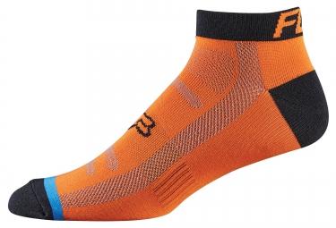 fox paire de chaussettes race 2 orange