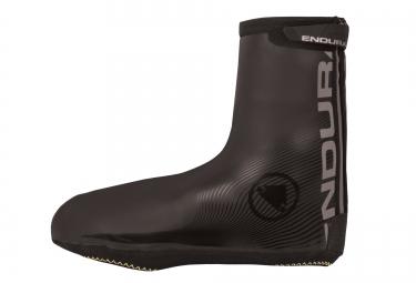 endura couvre chaussures impermeable road 2 noir