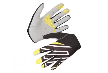 endura paire de gants hummvee lite noir jaune blanc