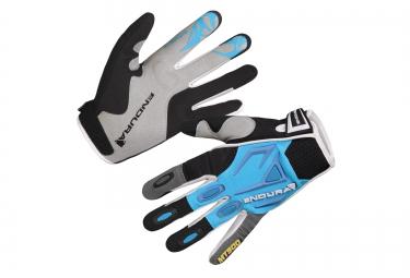 endura paire de gants mt500 bleu femme